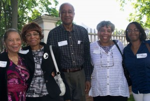 RH&SQ 6-9-12 Guests Enid Rocha, Audrey Smith, Irving Smith, Joyce Stamps and Nadynne Stamps