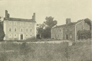 Royall House and Slave Quarters c. 1917