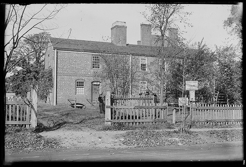 The Slave Quarters: Then and Now